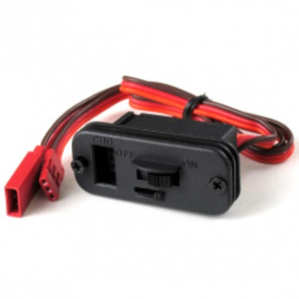 JR Switch Harness with Fuselage Charge Mount Plate 7721090