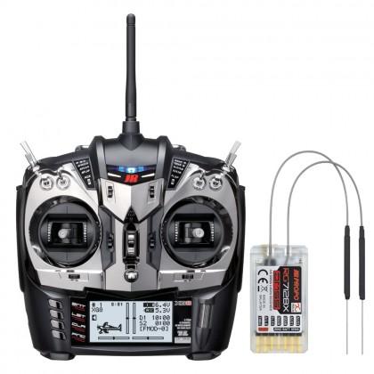 JR Propo XG8 DMSS XBus 8 Channel Transmitter With RG712BX Receiver JRCXG8M2