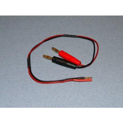 Charge lead 4mm-2mm (F+) (M-) O-LGL-CLG2
