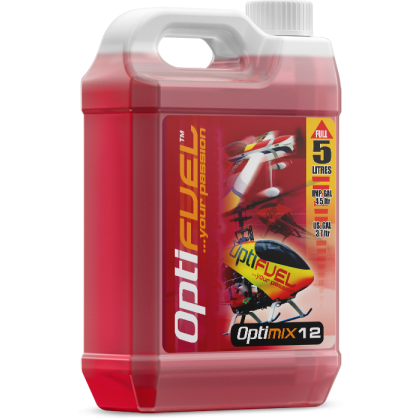 Optimix 12 Sport Flyer Glow Fuel from OptiFuel OH1218K