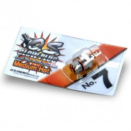 O.S. No.7 (Medium/Hot) Glow Plug