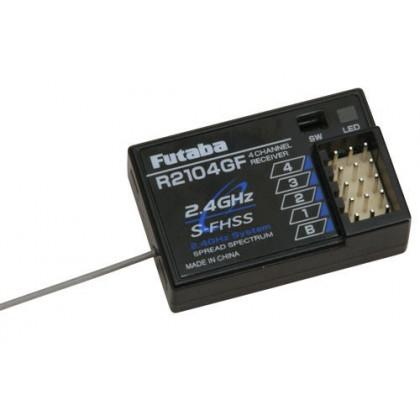 Futaba R2104GF Receiver 2.4GHz S-FHSS