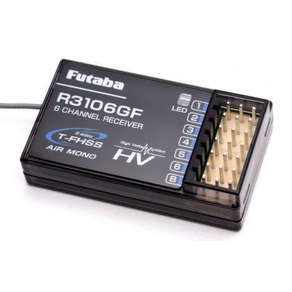 Futaba R3106GF 6 Channel Receiver T-FHSS Mono HV