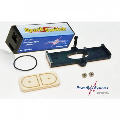 PowerBox Systems Spark Switch Click Holder from STV-Tech 021-04