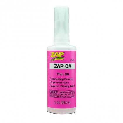 ZAP Cyanoacrylate Thin CA 2 oz. PT-07