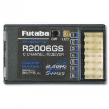 Futaba R2006GS 6 Channel Receiver (S-FHSS) 2.4GHz 4513886022517