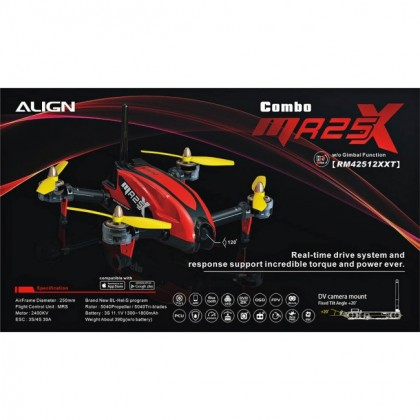 Align MR25X Racing Quad Combo (w/o Gimbal Function) RM42512XXT