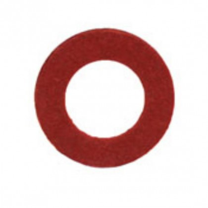 Red Fibre Washers M12
