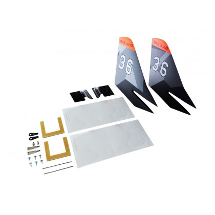 KR84 TORTUGA Rudder Upgrade Kit from SAB AVIO