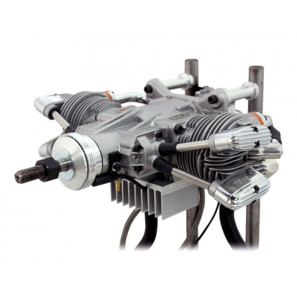Saito FG-61TS Twin Petrol Engine SAT61FGTS