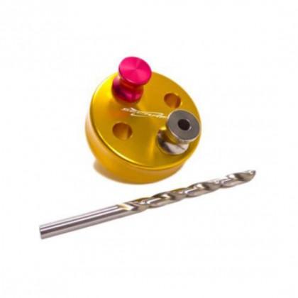 Secraft Drilling Jig Set 4S (5.1mm) - Gold  Engine - DA050, DL50, DL55, DLE55, DLA56, EVO54