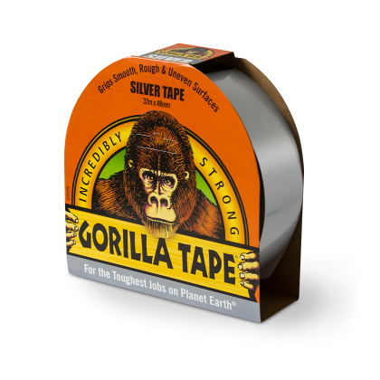 Gorilla Tape 48mm x 32m Silver