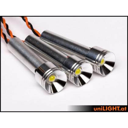 UniLight 3x8W Triple-Spotlight 15mm T-Fuse White SPOT15F-080-3xWE