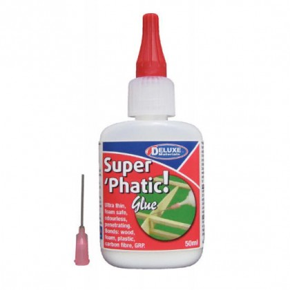 Deluxe Materials Super Phatic Glue 50ml AD21 S-SE34 5060243900180