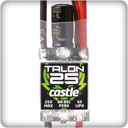 Castle Creations Talon 25a Brushless ESC 010-0128-00