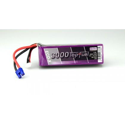 Hacker TopFuel ECO-X 6S 3000mAh 20C LiPo Battery