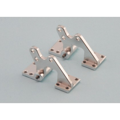 CNC Aluminium Offset Door Hinges Pack of 2 by Intairco IAC-250M
