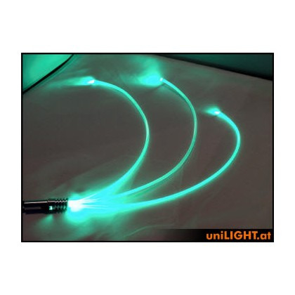 UniLight 4W Glow Fiber 3mm Green