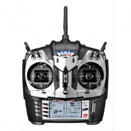 XG14 DMSS 2.4GHz X-Bus Transmitter from JR Propo With RG1131BX Receiver JRCXG14M2B