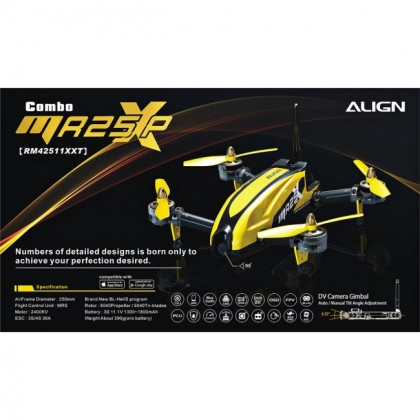 Align MR25XP Racing Quad Combo (w/ Gimbal Function) RM42511XXT