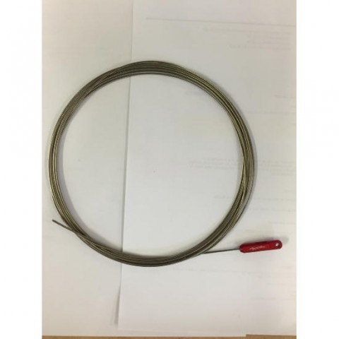 3.0mm Nylon Covered Trace Wire Flexible Stainless Steel 500kg strain 10m  Special Offer 50% off
