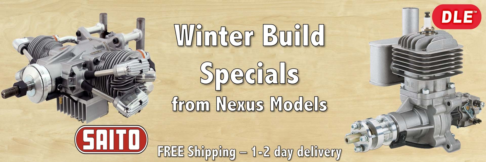 Winter Build Specials