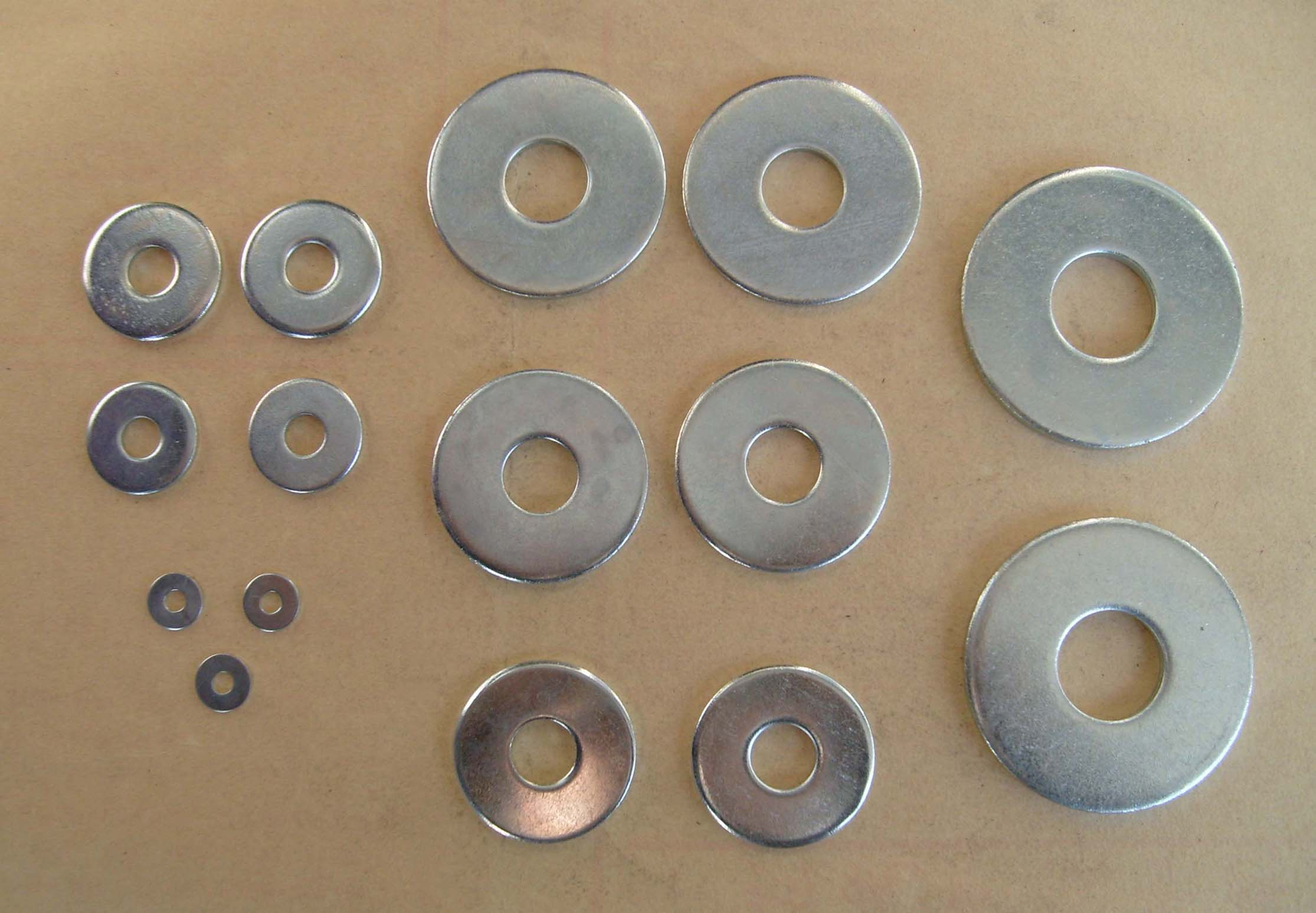 Washers of all types and sizes - Nexus Modelling Supplies