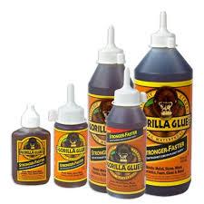 Gorilla Glue Various Types