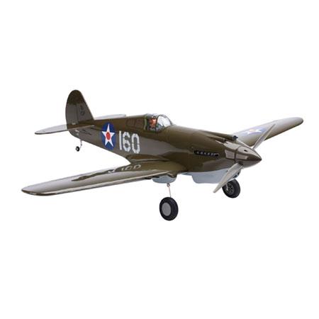 Hangar P-40B Warhawk 50