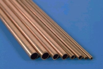 K&S Round Copper Tube