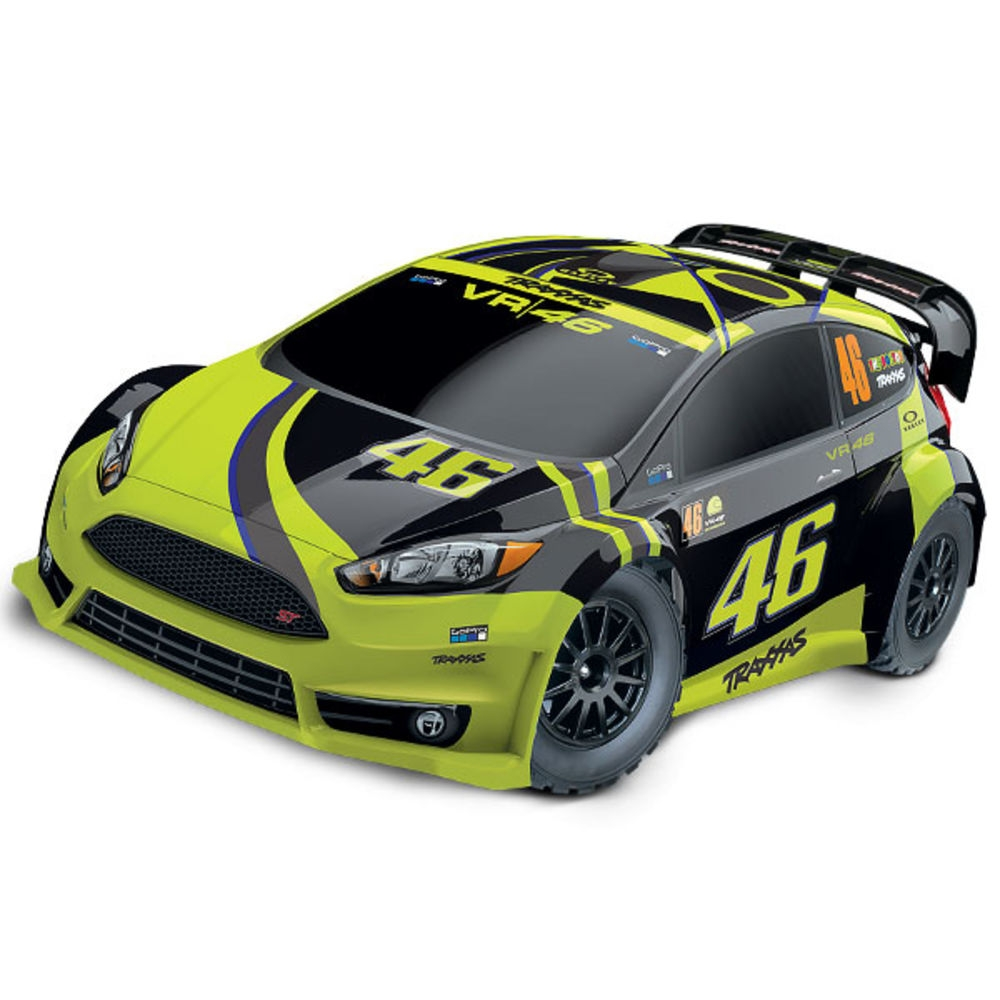Ford Fiesta ST Rally 1/10 74064-4