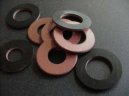 Red Fiber Washers