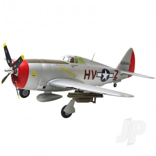 Arrows Hobby P-47 Thunderbolt PNP with Retracts (980mm) ARR001P