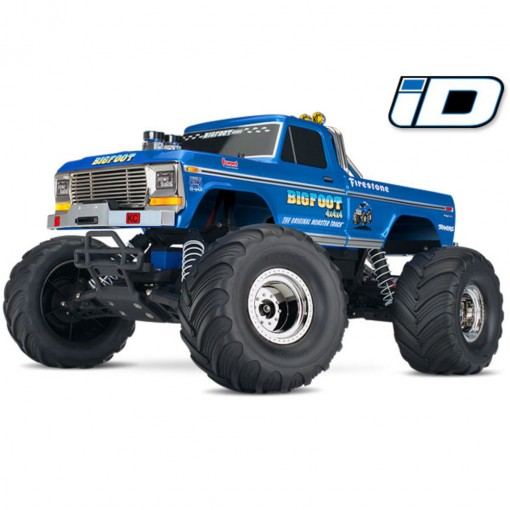 Traxxas Classic Bigfoot No. 1/ 1/10 Scale Officially Licensed Replica Monster Truck RTR with TQ 2.4GHz radio system and XL-5 ESC Includes 7-Cell NiMH 3000mAh Traxxas battery TRX36034-1-R5