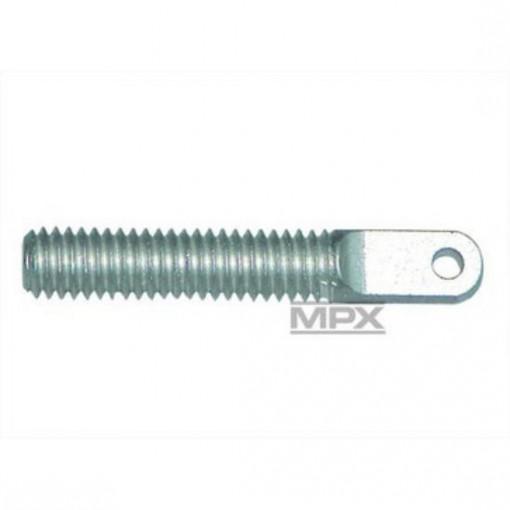 Multiplex Aluminum Ring Screw M4 (Pack of 6) 713863 4041033018637