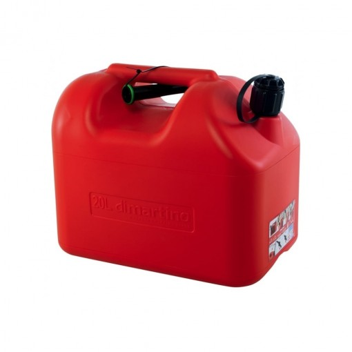 Dimartino Jerry Can Fuel Tank 20 Litre 2 Spout Approved Transport Road Rail Sea & Air 20L As used on the Nexus Fuel Caddy