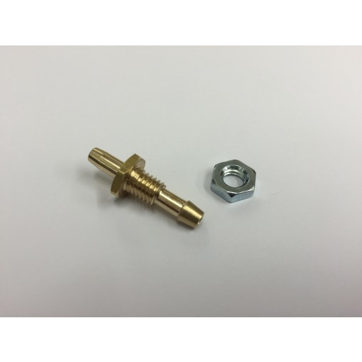 Fuselage Breather overflow Fitting with Smooth End 1/8th (3.2mm) to 4mm Tube