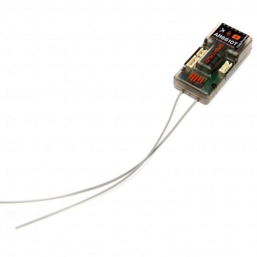 Spektrum AR6610T 6-Channel Air DSMX Telemetry Receiver SPMAR6610T