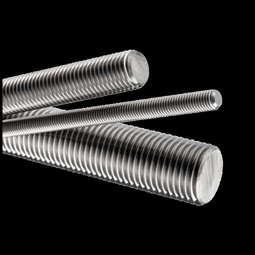 M2.5 Stainless Steel Threaded Rod Studding M2.5 x 250mm