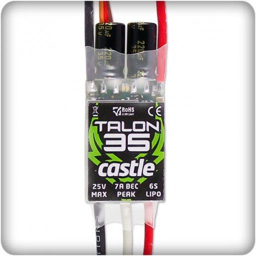 Castle Creations Talon 35a Brushless ESC 010-0122-00