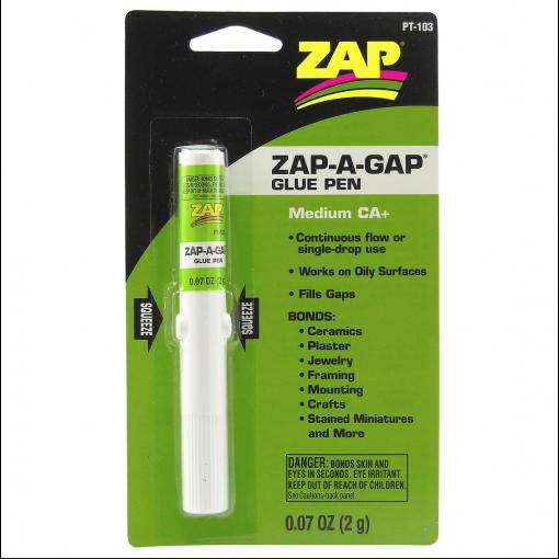 ZAP PT103 Zap-A-Gap Medium CA+ Glue Pen 2g (medium)