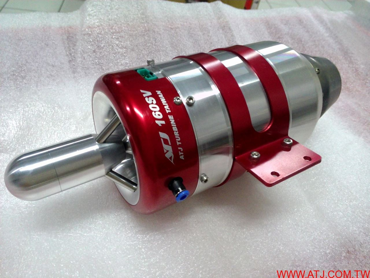 ATJ160SV, 16kg thrust turbine jet engine all new 2017 Version from ATJ  Turbines In stock Now