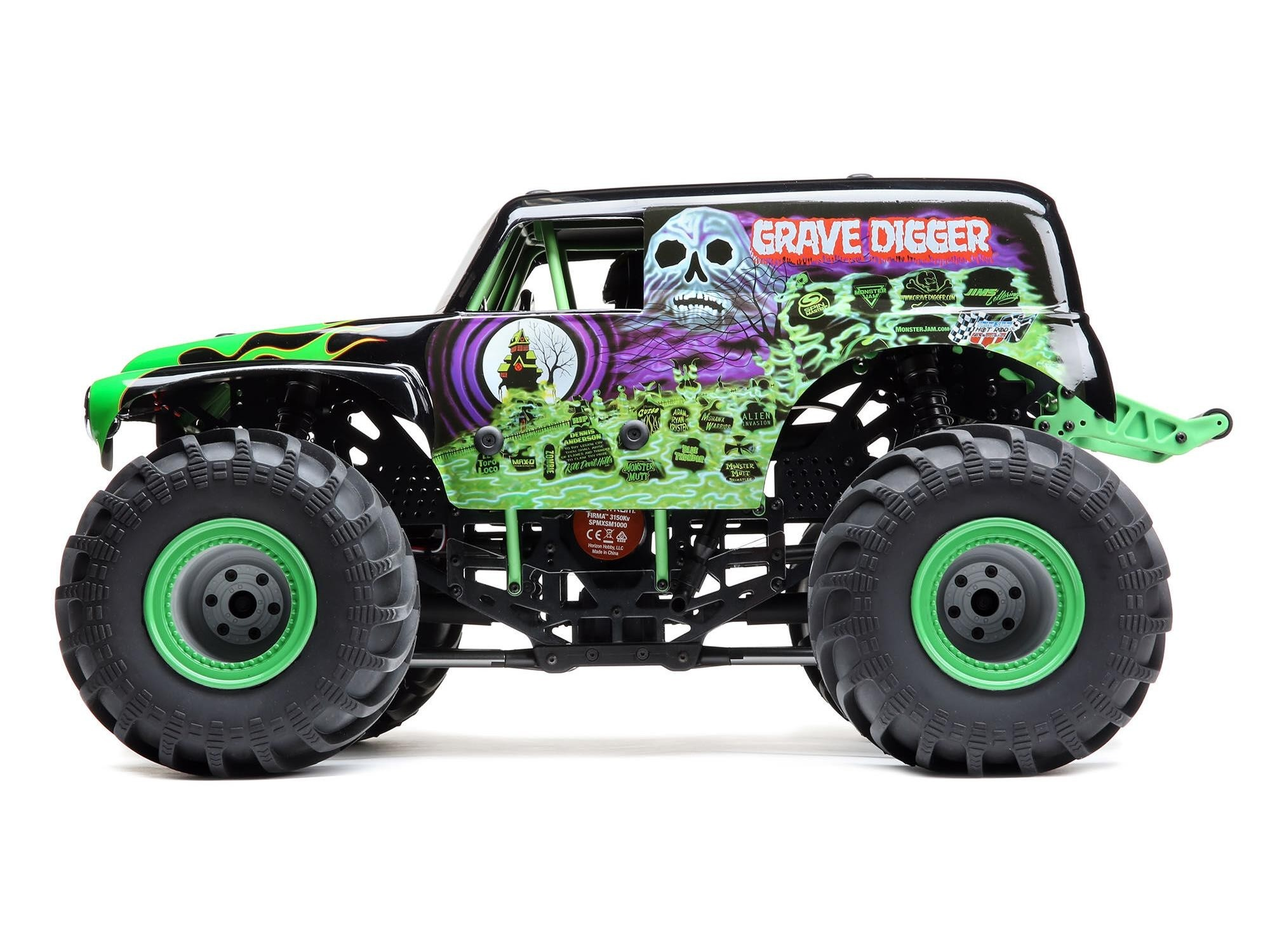 Losi LMT 4WD Solid Axle Monster Truck RTR Grave Digger ...