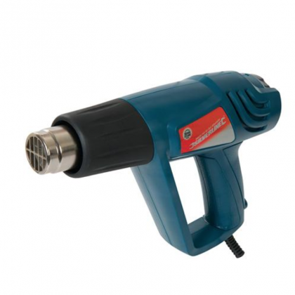 Hot Air / Heat Gun Silverstorm 2000W Adjustable Flow / Heat Gun from Silverline 125963