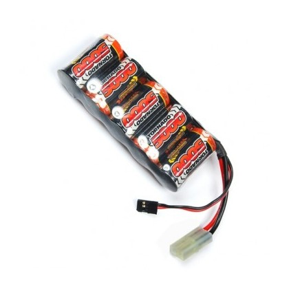 Overlander NiMH Battery Pack Sub C 5000mah 6v RX - 1595