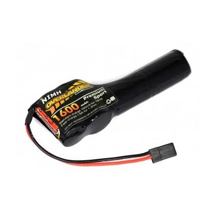Overlander NiMH Battery Pack 2/3 AF 1600mah 4.8v Receiver Config (2+3) Premium Sport 2910