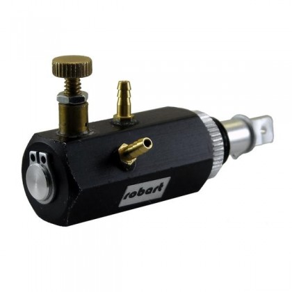 Robart Air Control Valve(1 Position 2 Port) (Black) RB186VR