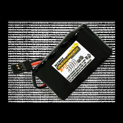 Overlander Nimh Battery 2/3 AAA Pack 300mah 6v Receiver Flat Premium Sport 1500