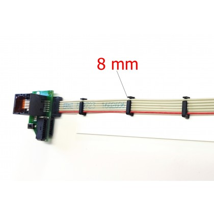 Ribbon Cable Holder 8mm Click Holder from STV-Tech 012-23