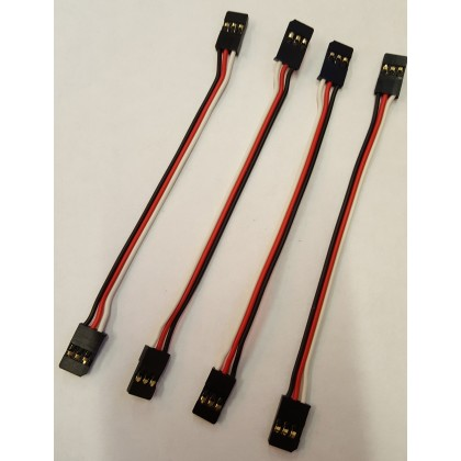 Futaba Male-Male Servo Patch Lead 100mm